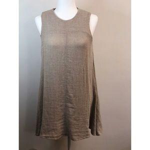 NWOT Zara | Burlap Dress